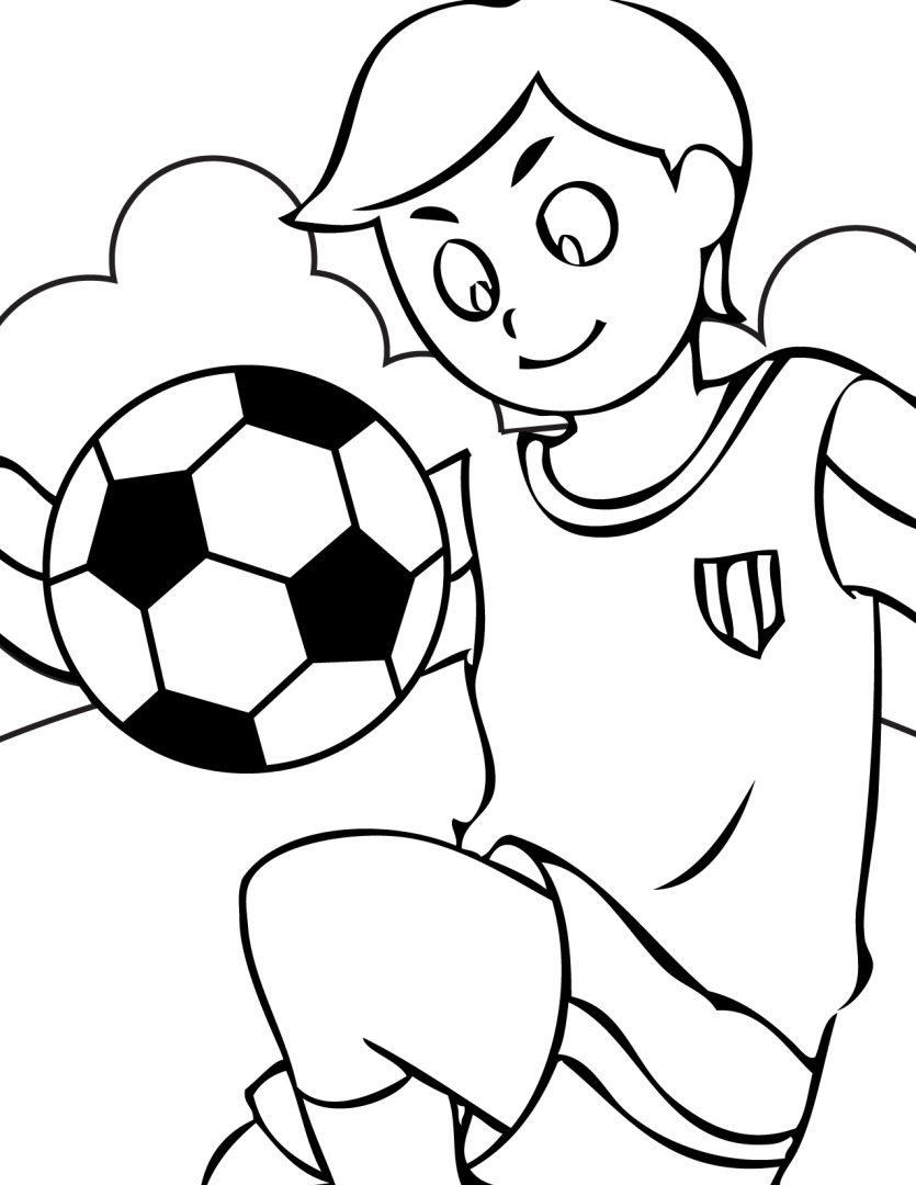 Galería de imágenes: Dibujos de deporte para colorear